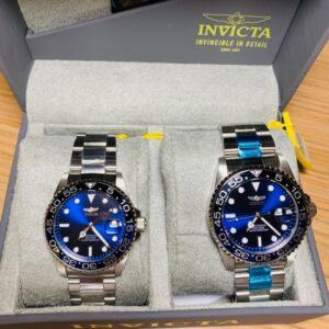 Reloj Invicta Pareja Fondo Azul