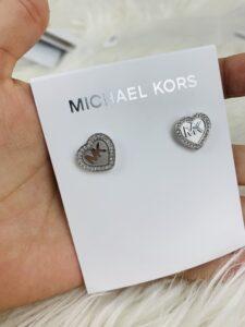 Aros Michael Kors Plateada